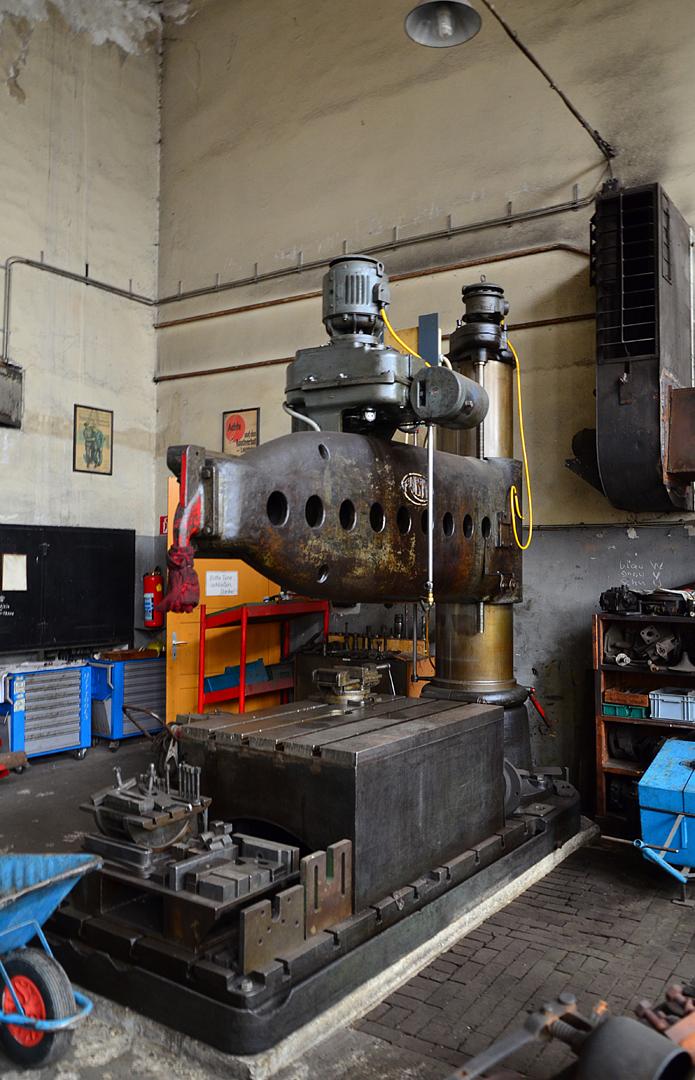 Bohrmaschine Heizhaus Strasshof