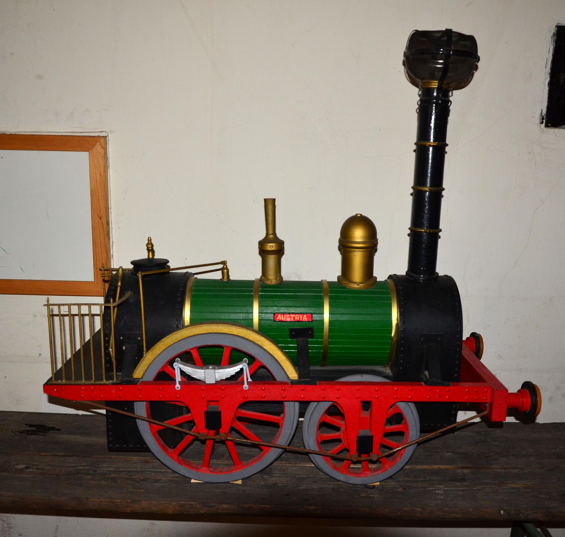 Erste Dampfeisenbahn Österreichs